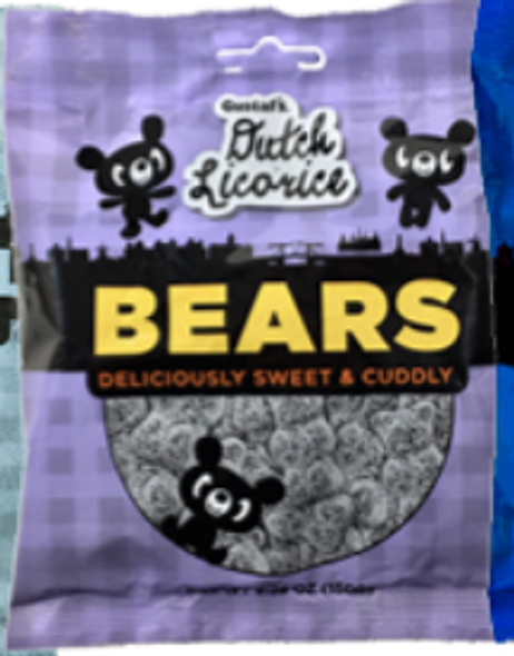 Gustaf's Dutch Licorice Bears 5.29 oz