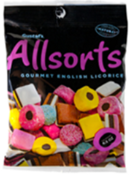 Gustaf's Dutch Licorice Allsorts 6.3 oz