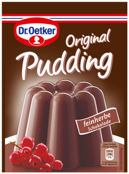 Dr. Oetker Feinherb Schokolade Pudding 3x1.68oz