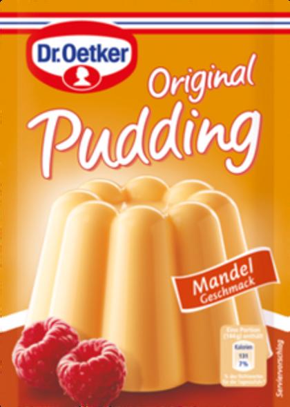 Dr. Oetker Mandrel Geschmack Pudding 3x1.3oz