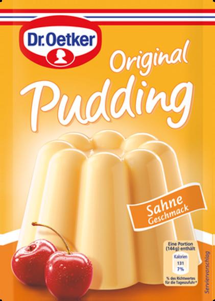 Dr. Oetker Sahne Geschmack Pudding 4x1.3oz