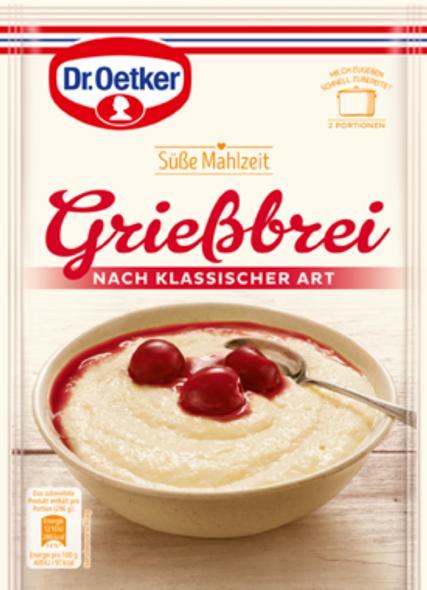 Dr. Oetker Grießbrei Nach Klassischer Art 92g