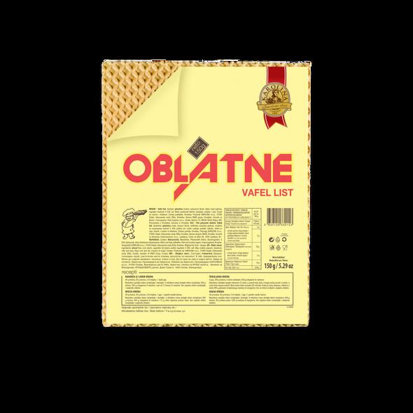 Karolina Oblatne Wafer 5 Sheets 150g