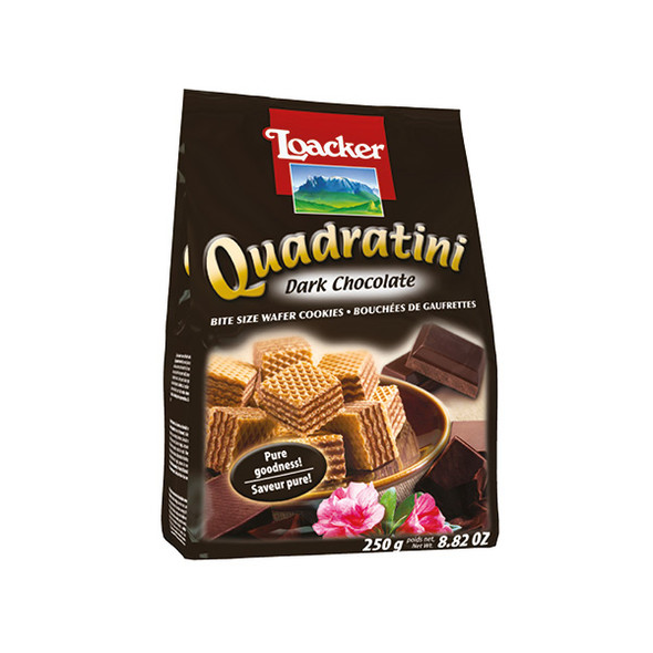 Loacker Quadratini Dark Chocolate
