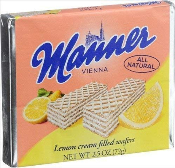 Manner Lemon Wafer Cookies