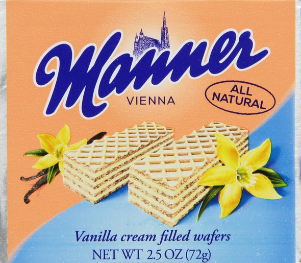 Manner Vanilla Wafer Cookies