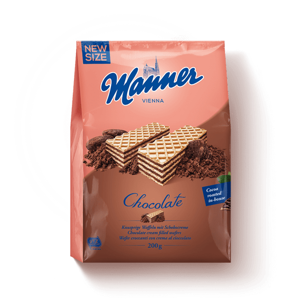Manner Chocolate Wafers