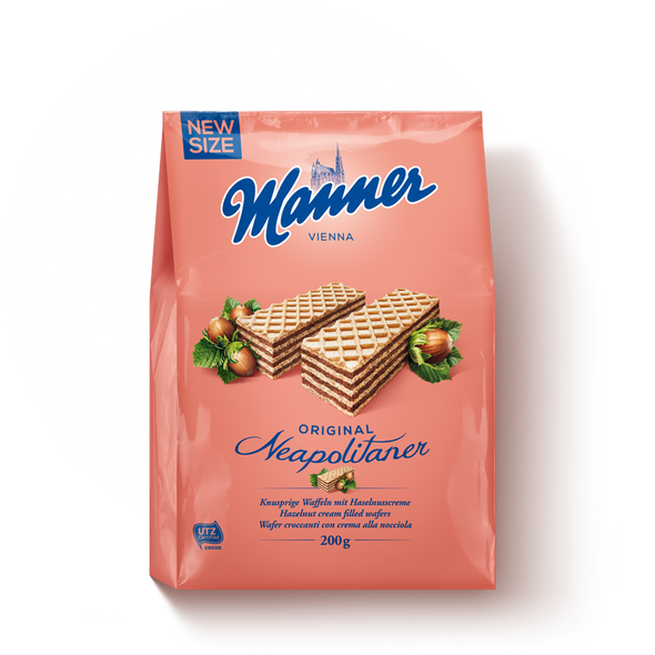 Manner Hazelnut Wafers