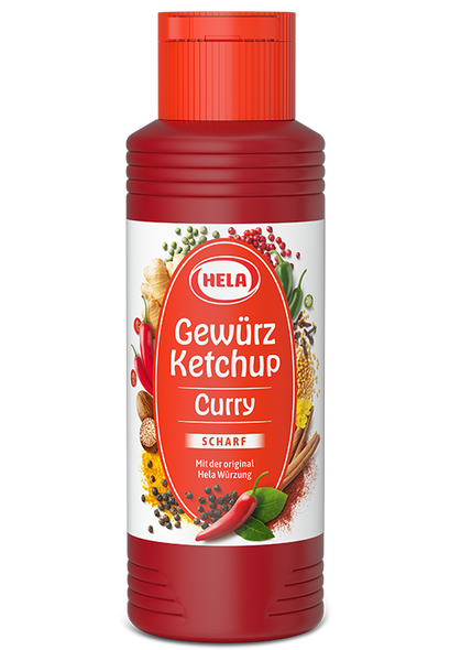 Hela Curry Gerwurz Ketchup 300ml