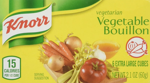 Knorr Vegetable Bouillon 60g