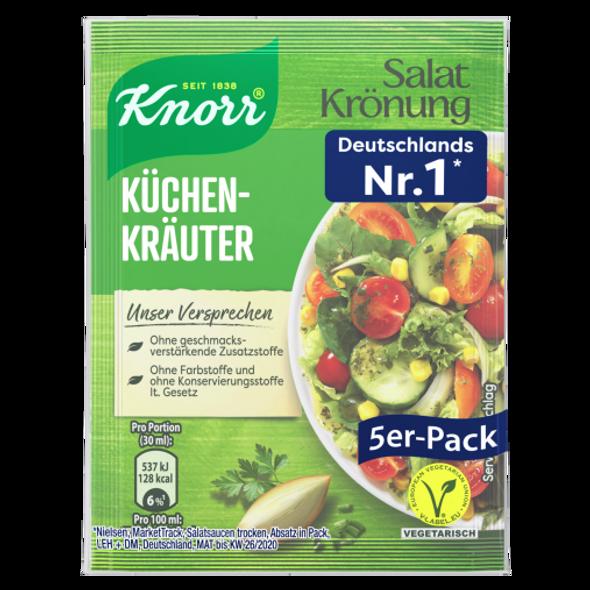 Knorr Salat Kronung Küchenkräuter (5 pack)