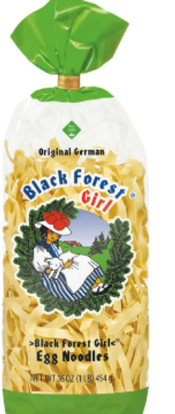 Black Forest Girl Broad Egg Noodles (454g)