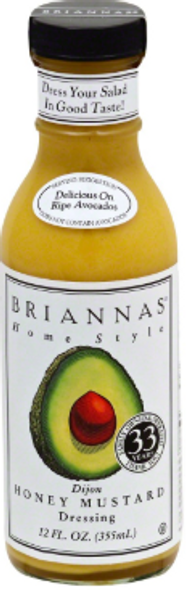 Briannas' Home Style Dijon Honey Mustard 355ml