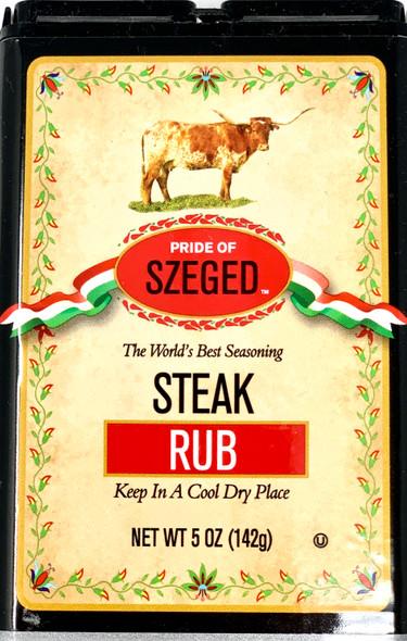Pride Of Szeged Steak Rub  142g