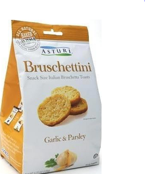 Asturi Bruschettini Itilian Toasts Garlic & Parsley