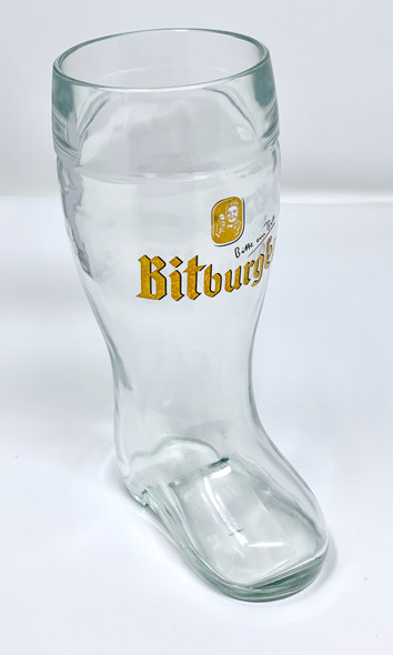 Bitburger Beer Boot 20oz