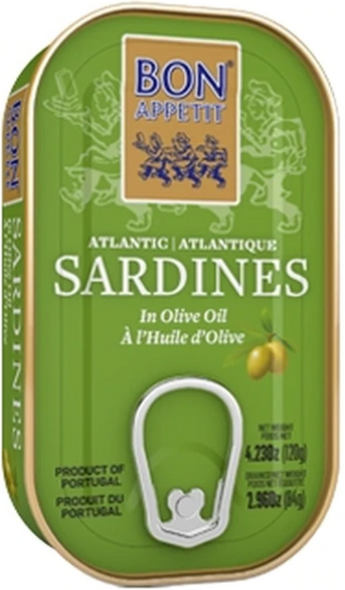 Bon Appetit Sardines in Olive Oil 4.23oz