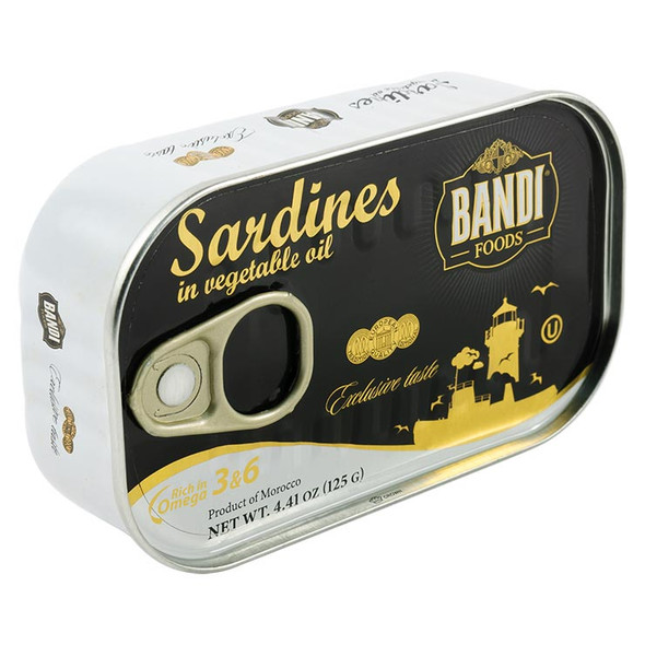 Bandi Sardines in Vegetable Oil 125g