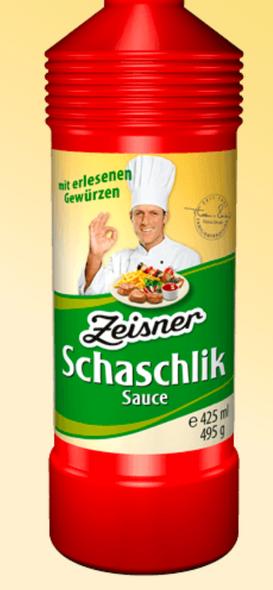 Zeisner Schaschlik Sauce 17.5oz (495g)
