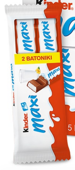 Kinder Maxi 2 bars x 21g