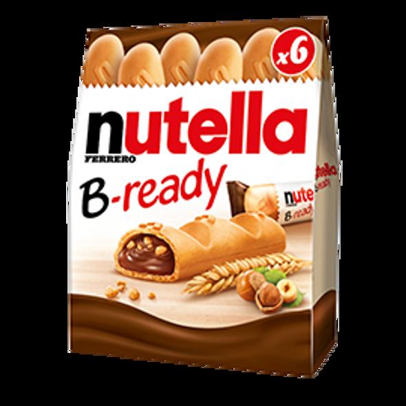 nutella B-ready 6 pack 132g