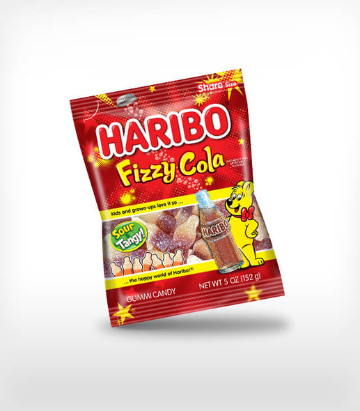 Haribo Happy Fizzy Cola 5oz
