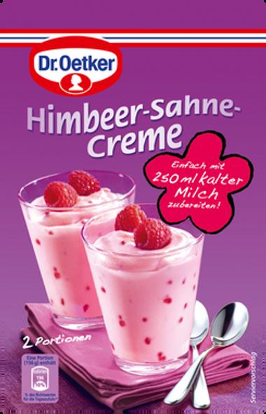 Dr. Oetker Himbeer-Sahne-Creme 63g