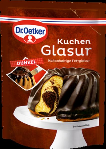 Dr. Oetker Kuchen Glasur Dunkel 125g