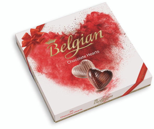 The Belgian Chocolate Hearts (20pcs) 200g