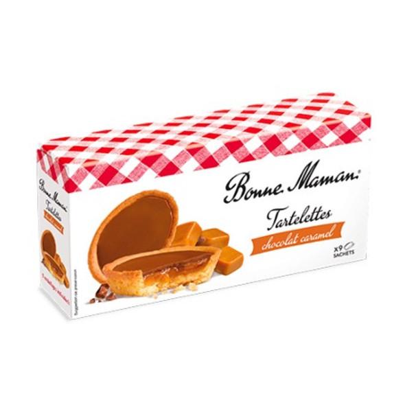 Bonne Maman Tartlettes  Chocolate Caramel (9 x Sachets) 135g
