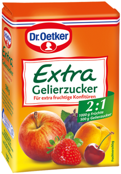 Dr. Oetker Gelierzucker 2:1 500g