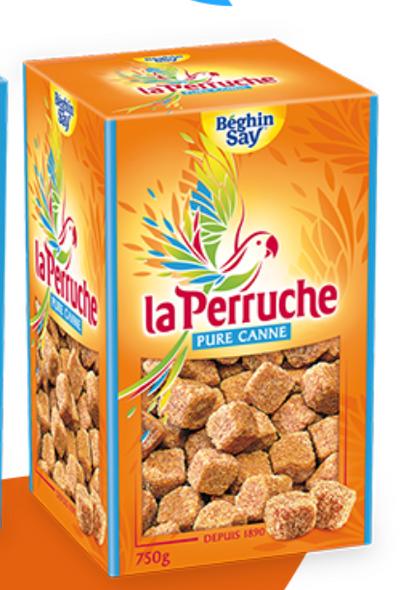 Beghin Say La Perruche Pure Cane 8.8oz (250g)