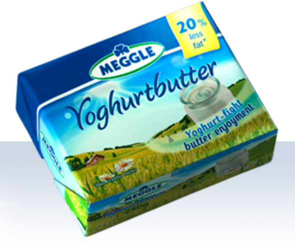 Meggle Joghurt Butter 8.8oz (250g) (refrigerated)