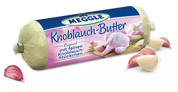Meggle Knoblauch-Butter 4.38oz (125g) (refrigerated)