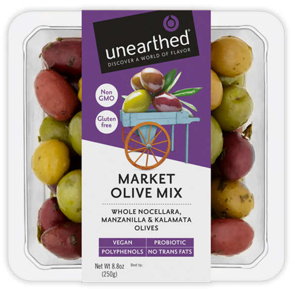 Unearthed Market Olive Mix 8.8 oz (Refrigerated)