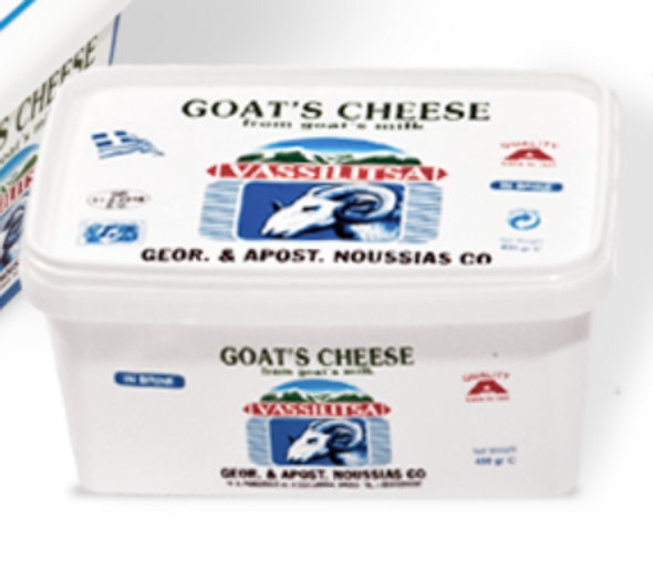 Vassilitsa Goat's Cheese 400gr (refrigerated)