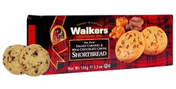 Walkers Salted Caramel & Chocolate Chunk Shortbread 4.7 oz