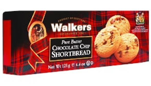 Walkers Pure Butter Chocolate Chip Shortbread 4.4 oz