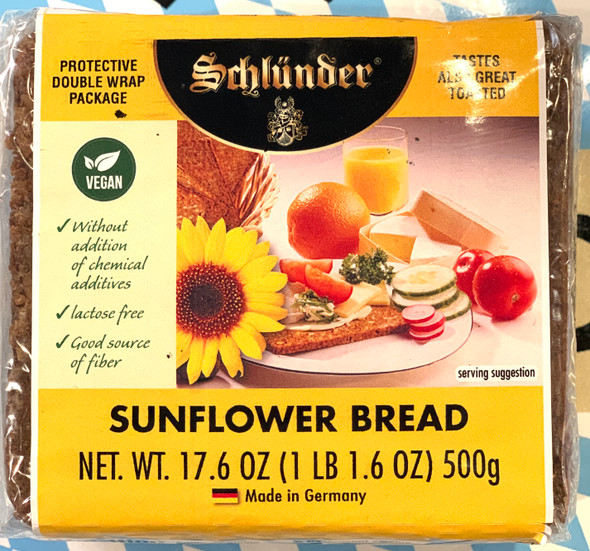 Schlunder Sunflower Bread 17.6 oz (500g)