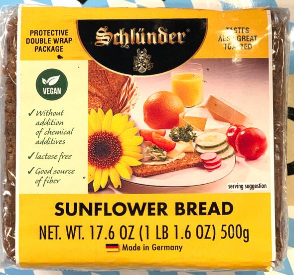 Schlunder Sunflower Bread 17.6 oz (500g)