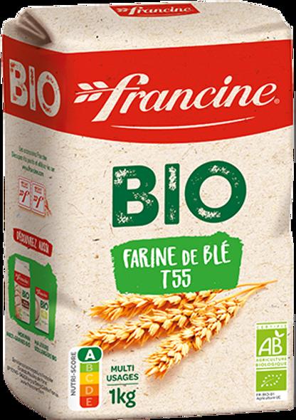 Francine Organic Wheat Flour 1kg