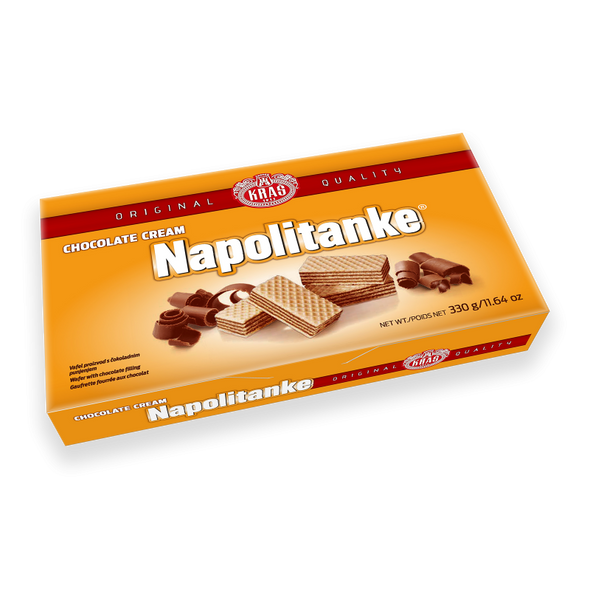 Napolitanke Chocolate Cream Wafers 330g