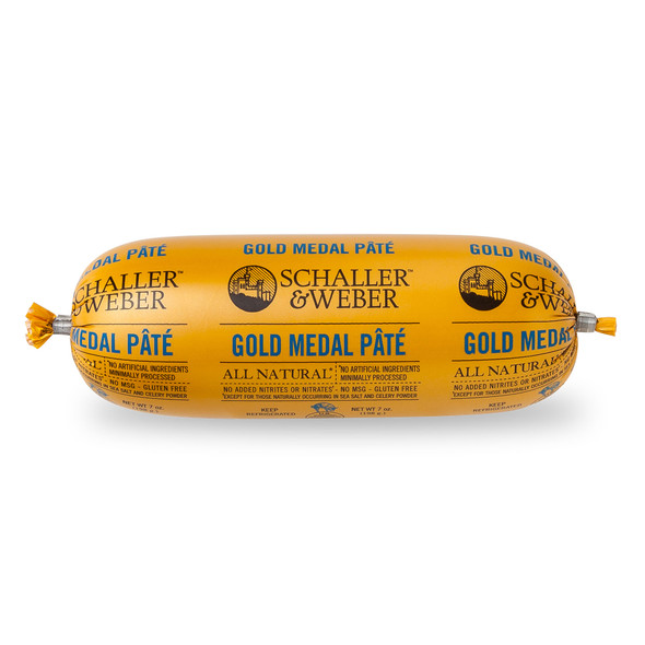 Schaller & Weber Gold Metal Pate 7oz Each