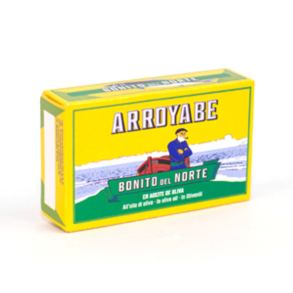 Arroyabe Ventresca White Tuna Belly in Olive Oil 111g