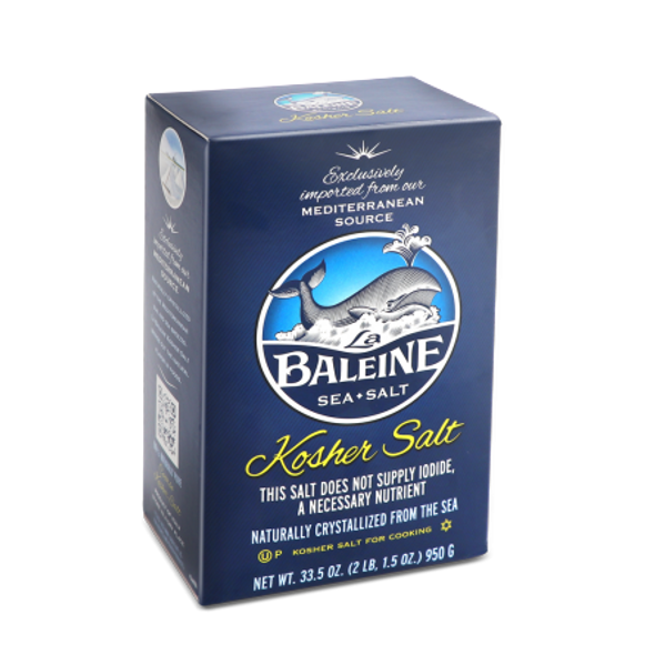 Baleine Kosher Cooking Sea Salt 950g (33.5oz)