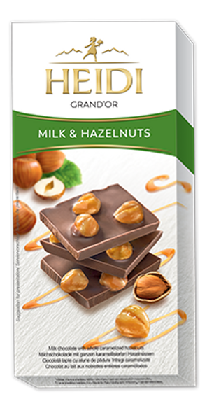 Heidi Grand'Or Milk & Hazelnuts 100g