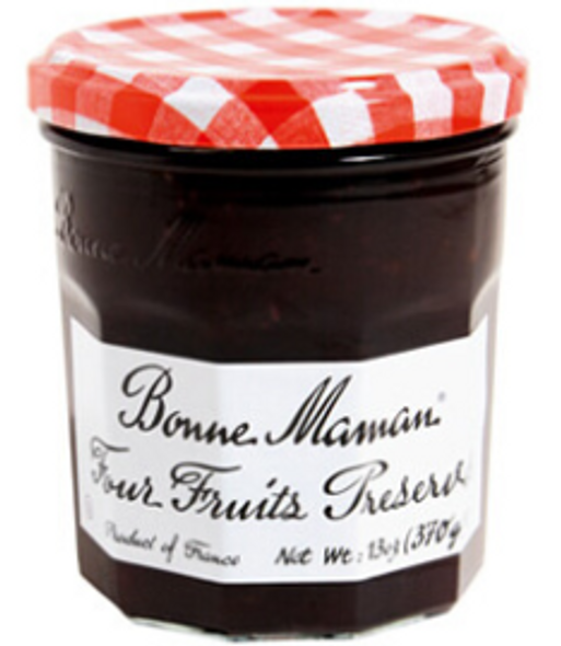 Bonne Maman Four Fruits Preserves 13oz (370g)