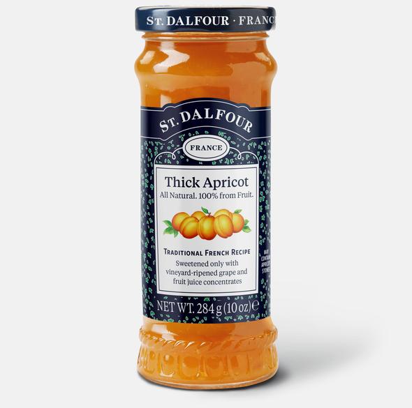 St. Dalfour Thick Apricot Jam 10oz (284g)