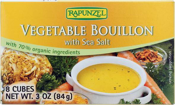 Rapunzel Vegetable Bouillon with Sea Salt 8 cubes (3oz)