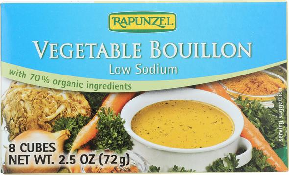 Rapunzel Vegetable Bouillon low sodium 8 cubes (2.5oz)